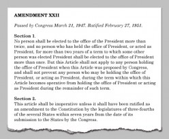 It is time to Modify our 22nd Amendment