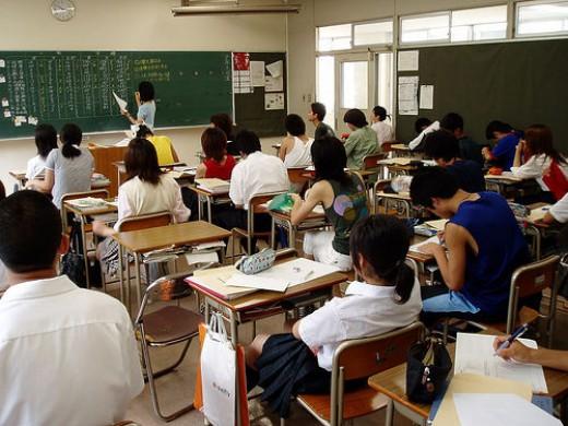 Class room.