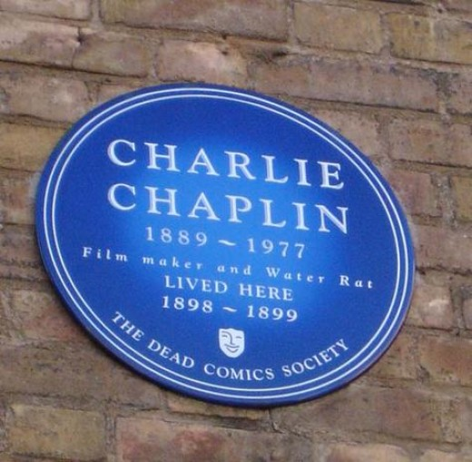 This isn't actually my name, or the specific Blue Plaque that I am planning on having, but it gives you an idea.