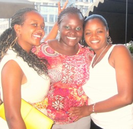 my girls and I on the day of the class reunion