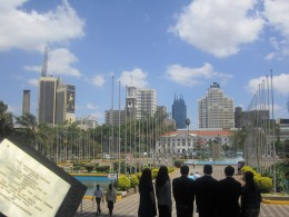 Nairobi..i took this shot while I was standing at KICC..