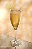 Champagner Mocktail.