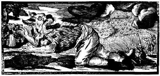 A German woodcut of werewolf from 1722. This image (or other media file) is in the public domain because its copyright has expired.