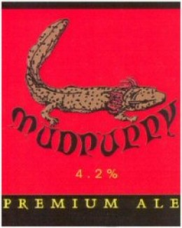 No mudpuppies were actually used in the making of this ale...that we know of...