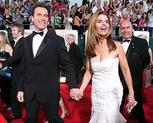 Arnold Schwarzenegger And Maria Shriver Happier Days!