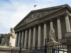 The National Assembly of France, Paris