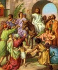 A Story of Palm Sunday, Easter Week, Jesus and Insurrection!