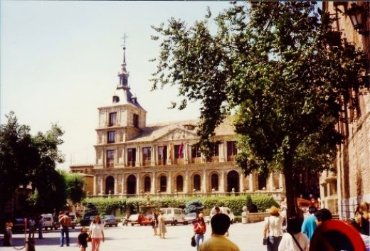 The Ayuntamiento or City Hall was built in the 16th century.