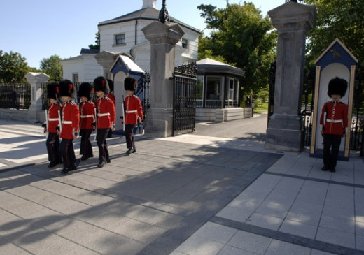 Rideau Hall is the official residence and workplace of the Governor General of Canada