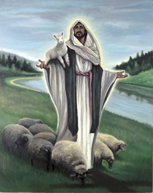 The Lord is my Shepherd...I shall not want!