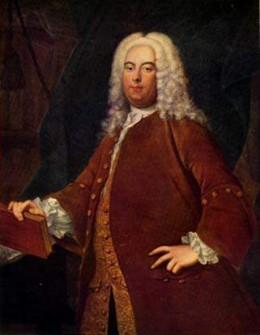 Georg Friedrich Hndel; portrait by Thomas Hudson