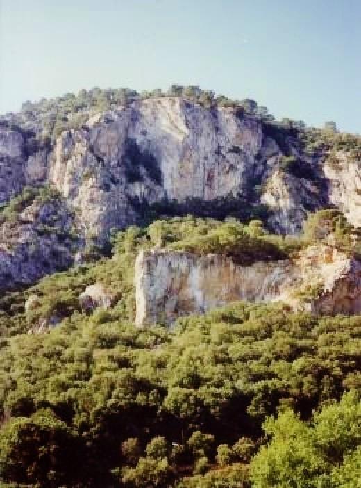 Mallorcan scenery between Palma & Valldemossa