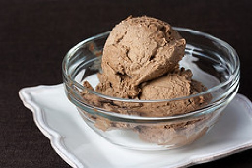 Raw Cacao Maca Ice Cream