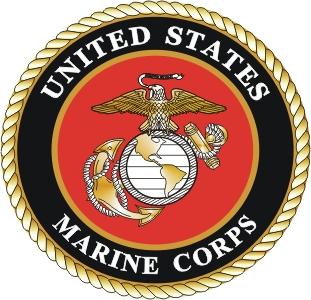 U.S.M.C emblem.