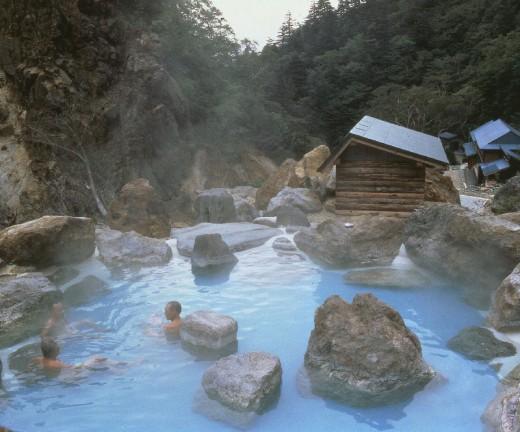Ubayu onsen in Yamagata.