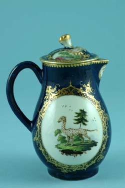 Worcester porcelain jug C1768-70