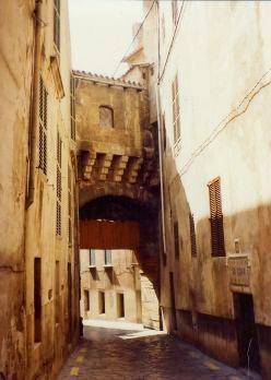 Almudaina Arch built in the 11th century