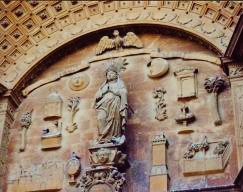 Exterior ornamentation on Palma Cathedral