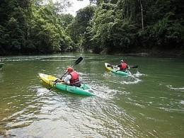 Kayaking in Brunei