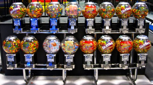 The Candy Machines at Sky High in Orange County, CA.