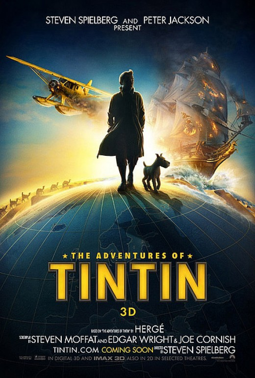 The Adventures of Tintin: The Secret of the Unicorn Movie Poster 1