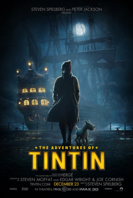 The Adventures of Tintin: The Secret of the Unicorn Movie Poster 2