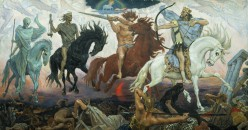 The 4 horseman of the Apocalypse - The first 4 Seal Judgments.