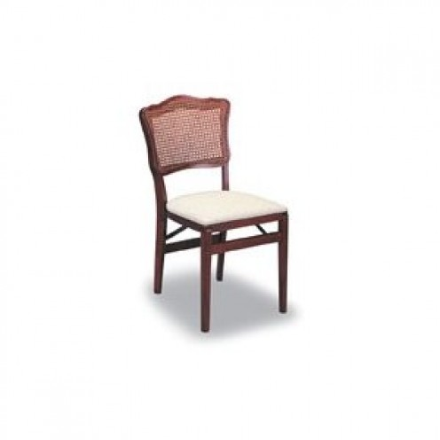 French Provincial simple yet elegant folding chair