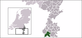 Map location of Eijsden-Margraten