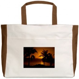 Grace Bay Sunset Beach Tote