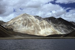 Amazing and unique Pangong Tso Lake in Leh Ladakh