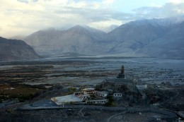 An awesome view of untouched Nubra Valley in Leh Ladakh