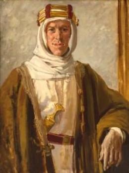 Portrait of Lawrence of Arabia