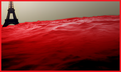 One third of the seas turn to blood