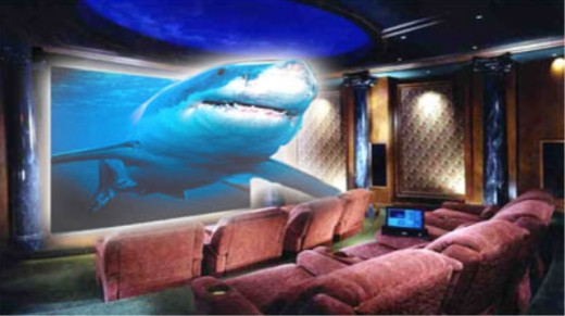 enjoy a wonderful 3D cinema experience with the projection based 3D