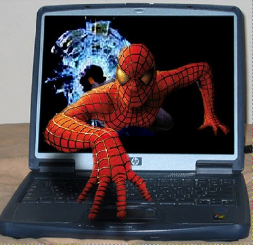 3D laptop with stereoscopic 3D