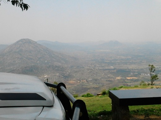 Atop Nandi Hills