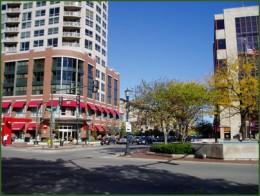 Downtown Evanston, Illinois