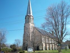 St Andrew's church, Beaverton, Ontario