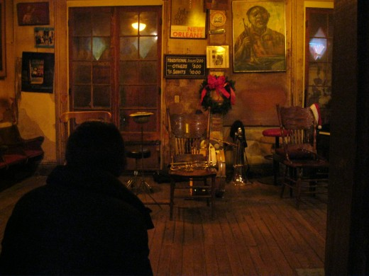 Preservation Hall interior
