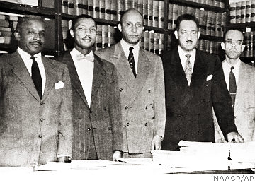 The Counsel provided to the Brown family by  NAACP