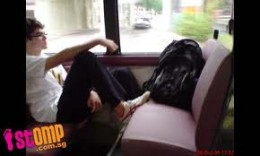 Your bags are not paying bus riders