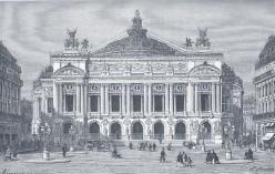 Paris Opera, 1875 engraving