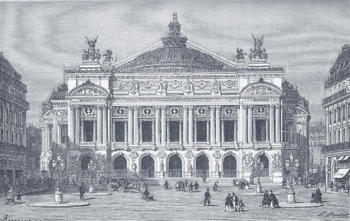 Paris Opera, 1875 engraving