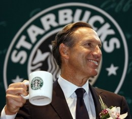Howard Schultz, Chief Executive Starbucks