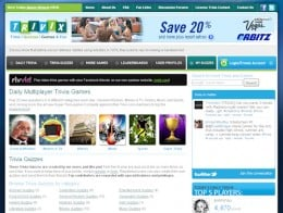 Screenshot of Trivix.com