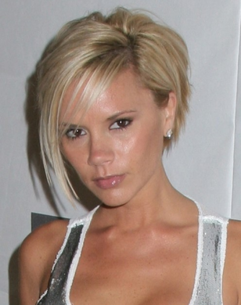 "Victoria Beckham wearing the ""Posh Bob"""