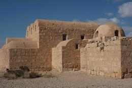 The Bath house of Qasr Amri