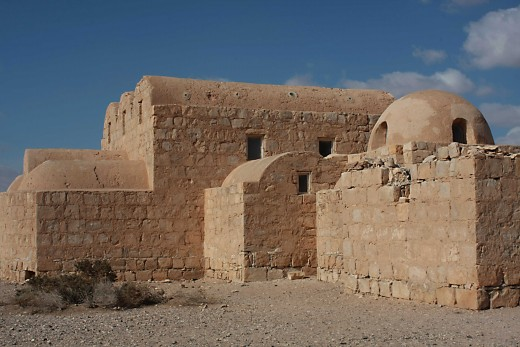 The Bath house of Qasr Amri