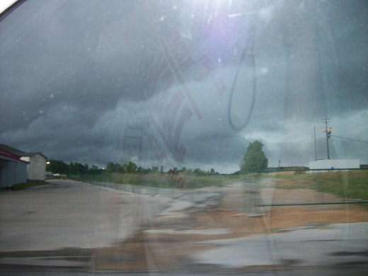 This was the EF5 that destroyed 75% of Hackleburg,Alabama on 4/27/2011.